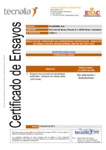 Barandillas resistentes a la corrosión